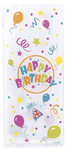 Unique Party - Cello Bags - Birthday (Pack of 20)