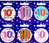 Simon Elvin - Small Badge - Age 10 (Pack of 6)