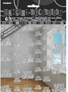 Unique Party - 5 Foot Silver String Decorations - Birthday (Pack of 6)