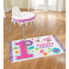 Amscan - Sweet 1st Birthday Girl - High Chair Decorating Kit (Pack of 2) Cover
