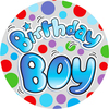 Expression Factory - Medium Badge - Birthday Boy