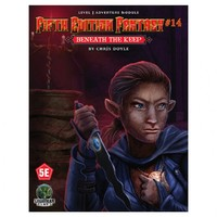 5E Fantasy - #14: Beneath the Keep (Role Playing Game) - Cover