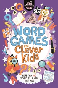 Word Games For Clever Kids - Gareth Moore (Paperback) - Cover