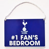 Tottenham Hotspur - Club Crest No 1 Fan Bedroom Sign