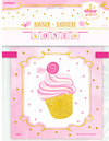 Unique Party - Pink/Gold - 1st Birthday Block Banner - 12 Feet Cover