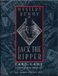 Mystery Rummy - Jack the Ripper (Card Game) - Cover