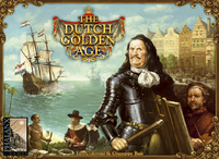 The Dutch Golden Age (Board Game) - Cover