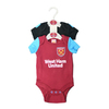 West Ham United - Club Crest Bodysuit 17/18 (3/6 Months)