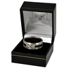 West Ham United - Club Crest Black Inlay Ring (Medium)