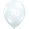 Qualatex - 11 inch Clear Latex Balloon - 70 Around (Pack of 50) Cover
