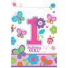 Amscan - Sweet 1st Birthday Girl - Loot Bags (Pack of 8) Cover