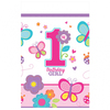 Amscan - Sweet 1st Birthday Girl - Plastic Tablecover Cover