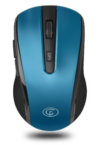 GoFreeTech Wireless 1600DPI Mouse - Blue - Cover