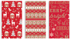Giftmaker - Rollwraps - Cosy Christmas (Pack of 50)