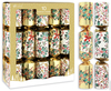 Giftmaker - 14 inch Christmas Party Crackers - Traditional Foliage (Pack of 10)