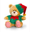 Keel Toys - 20cm Christmas Pipp the Bear - Elf