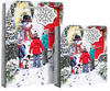 Eurowrap - Snowman Scene Bags - X-Large (Pack of 12)