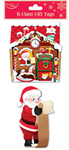 Eurowrap - Christmas Giant Gift Tags - Cute (Pack of 12)