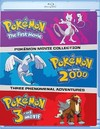 Pokemon: Movies 1-3 Collection (Region A Blu-ray)