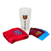 West Ham United - Wordmark Club Crest Mini Bar Set
