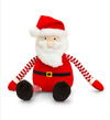 Keel Toys - 22cm Dangly Stripey Christmas - Santa