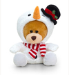 Keel Toys - 14cm Christmas Pipp the Bear - Snowman