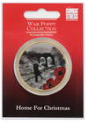 The War Poppy Collection Commemorative Koin - Home For Christmas