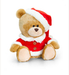 Keel Toys - 20cm Christmas Pipp the Bear - Santa
