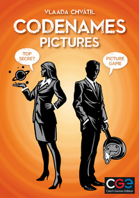 Codenames - Pictures XXL (Card Game) - Cover