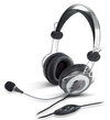 Genius HS-04SU Binaural Head-band Headset - Grey