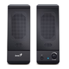 Genius - SP-U120 USB 3W Loudspeaker - Black