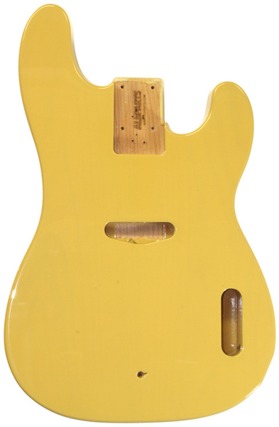 allparts bass guitar alder replacement body for fender telecaster bass style guitars with. Black Bedroom Furniture Sets. Home Design Ideas