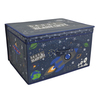 Kids Folding Storage Chest - Blast Off