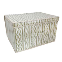 Kids Folding Storage Chest - Cable - Cover