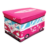 Kids Folding Storage Chest - Camper Van