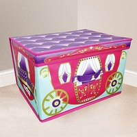 Kids Folding Storage Chest - Carriage - Cover