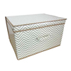 Kids Folding Storage Chest - Chevron