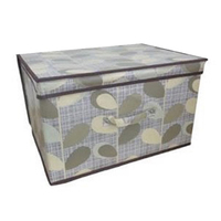 Kids Folding Storage Chest - Leaf - Cover