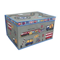 Kids Folding Storage Chest - Travel - Cover