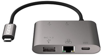 Kanex USB-C to Gigabit Ethernet and USB-a With Power Delivery Adapter - Cover