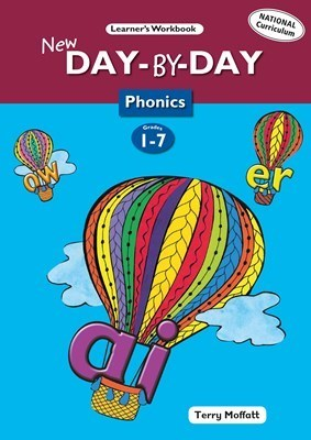 New Day-by-day Phonics: New Day-by-Day Phonics: Grade 1-7 Workbook -  (Paperback)