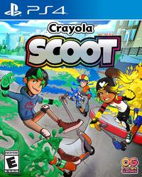 Crayola Scoot (US Import PS4) - Cover