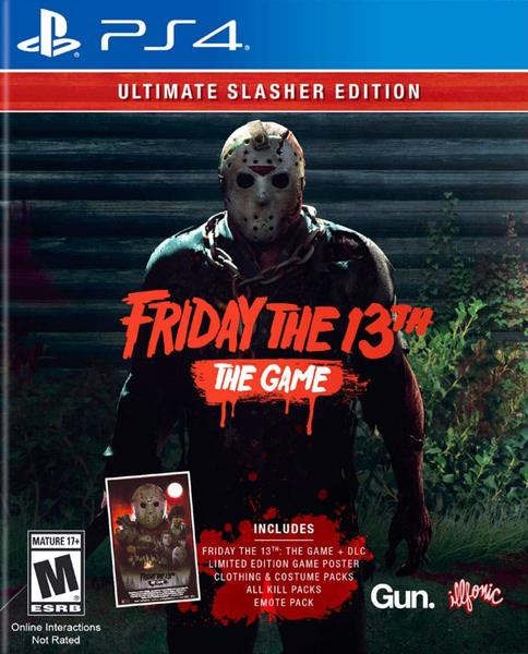 Friday The 13th: The Game Ultimate Slasher Edition (US Import PS4)