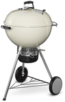 Weber - 57cm Mastertouch with Gourmet BBQ System Grate & Tuck Away Lid (Ivory)