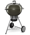 Weber - 57cm Mastertouch with Gourmet BBQ System Grate & Tuck Away Lid (Smoke Grey)