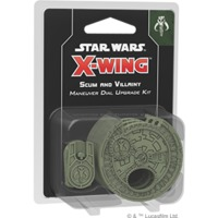 Star Wars: X-Wing Second Edition - Scum and Villainy Maneuver Dial Upgrade Kit (Miniatures) - Cover