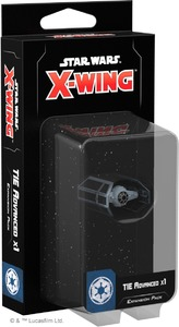 Star Wars: X-Wing Second Edition - TIE Advanced x1 Expansion Pack (Miniatures) - Cover