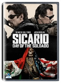 Sicario: Day Of The Soldado (DVD) - Cover