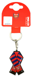 Arsenal - Bar Scarf Metal Keyring