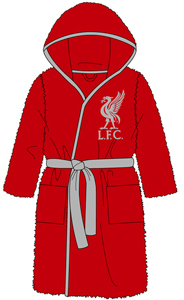Liverpool - Kids Bath Robe (3-4 Years) - Cover